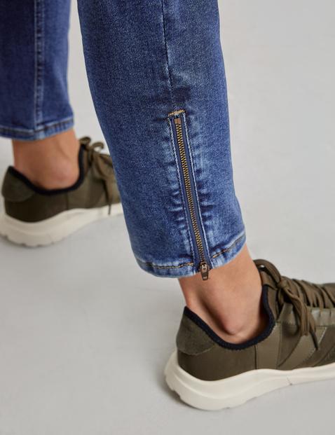 Best4me jeans with hem zips