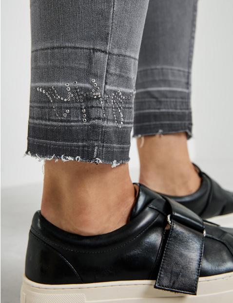 Jeans with a vintage hem, Best4me organic cotton