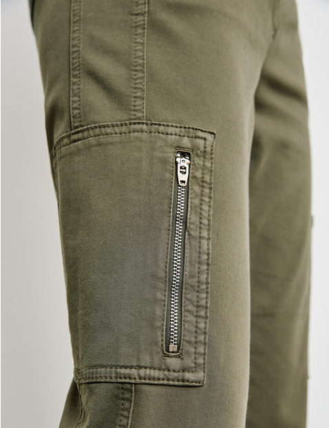 Cargo trousers, Best4me cropped organic cotton