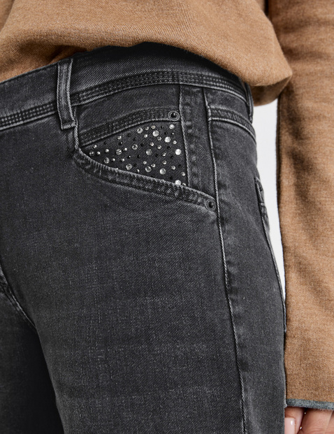 Jeans mit Krempelsaum Relaxed Fit Organic Cotton