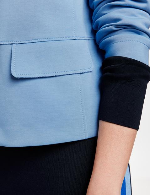 High-fastening blazer