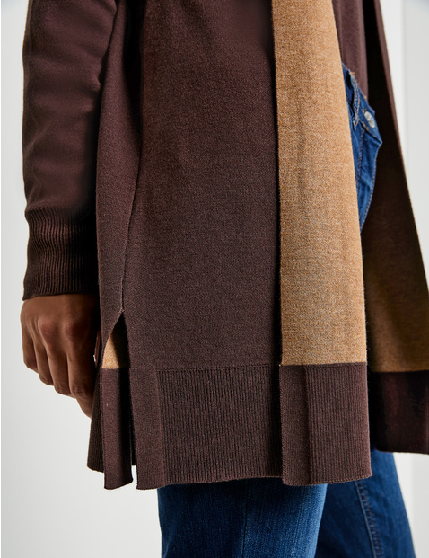 Double-faced long jacket