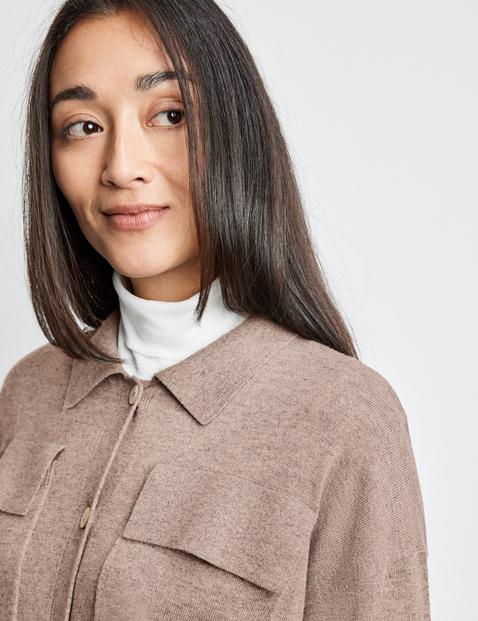 Casual knit shirt