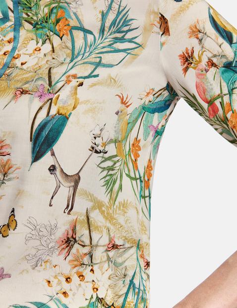 Bluse mit exotischem Muster