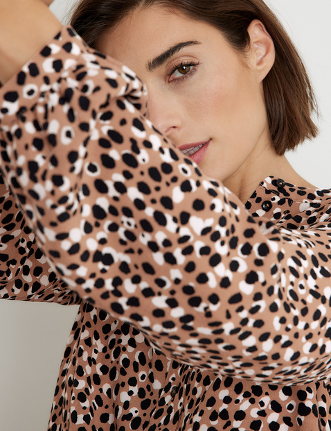 Patterned EcoVero blouse