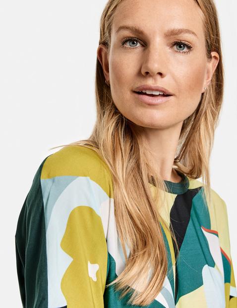 Shirt met knoopdetail EcoVero
