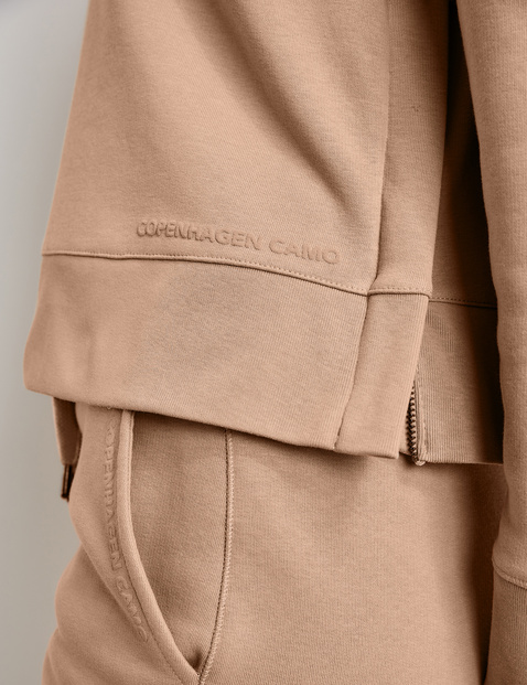 Hoodie with decorative details