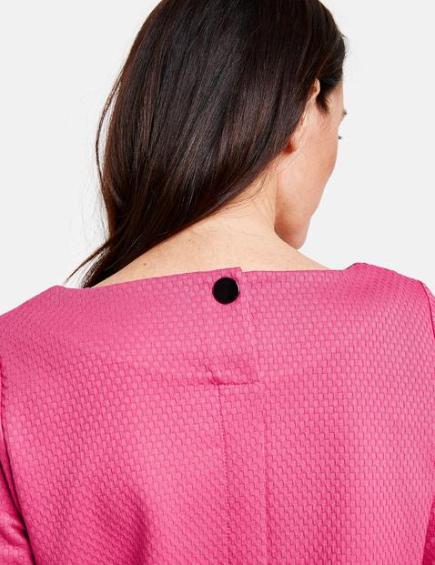 3/4 Arm Shirt mit Wabenstruktur