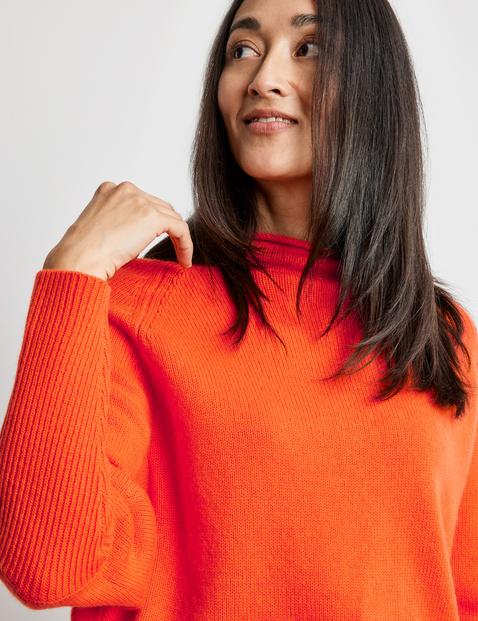 Wool-cashmere jumper