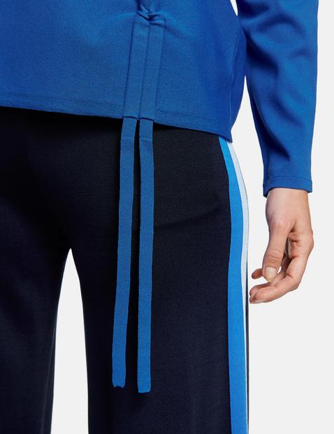 Pullover mit Raffdetail