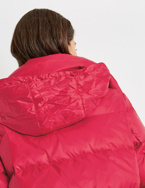 Ultra-soft down quilted jacket