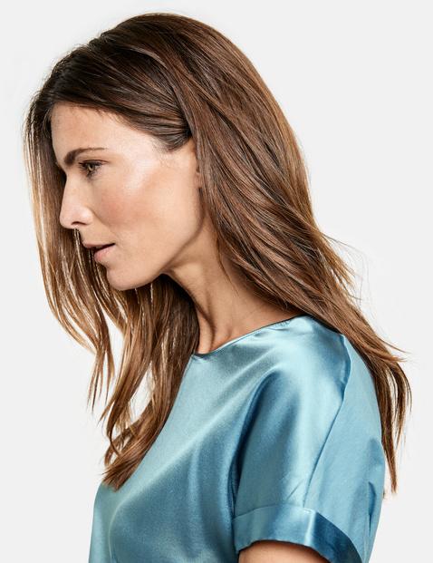 Satin blouse top