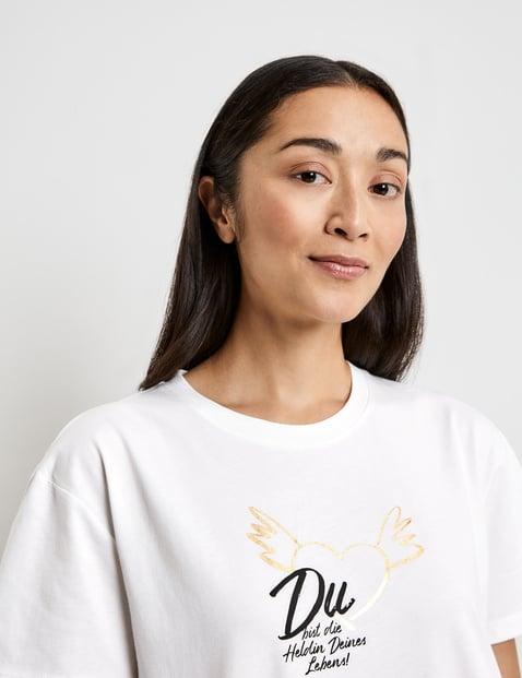 Lebensheldin (Heroine of Your Life) GOTS T-shirt