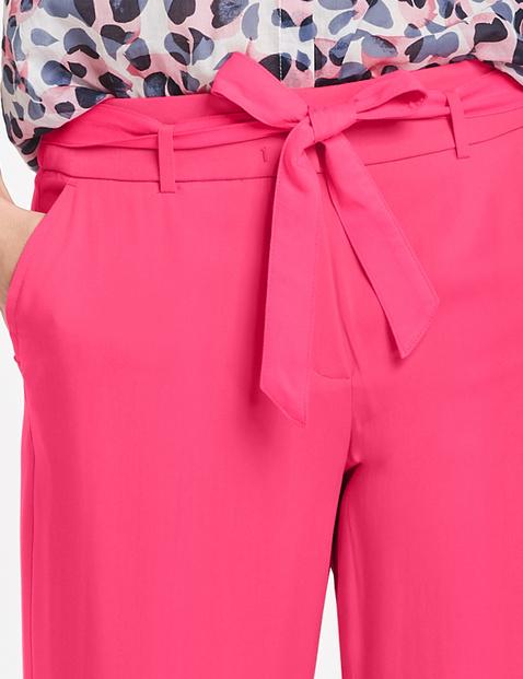 Hose mit Paperbag Bund