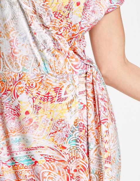 Wickelkleid mit Paisleyprint