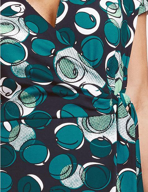 Kleid mit Wickeleffekt