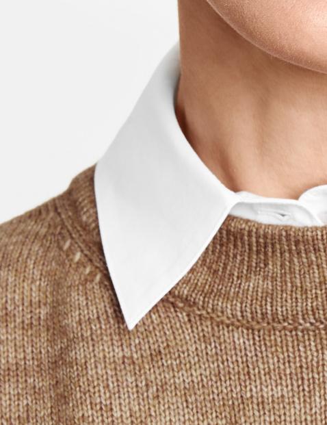 Blouse collar, collar insert