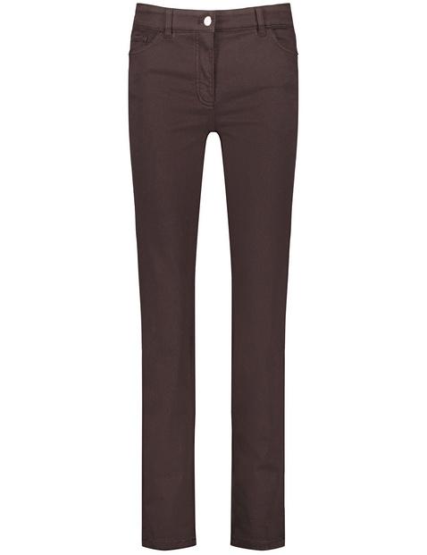 Petite, straight fit 5-pocket jeans
