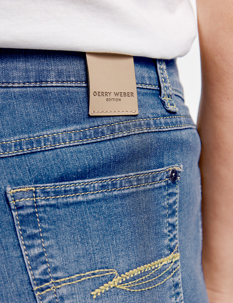 Five-pocket petite trousers, Comfort Fit