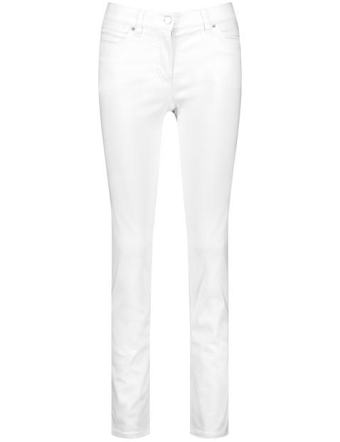 SkinnyFit4me jeans in organic cotton, Petite