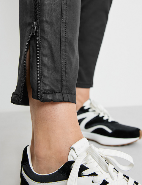 Trousers with hem zips, Best4me