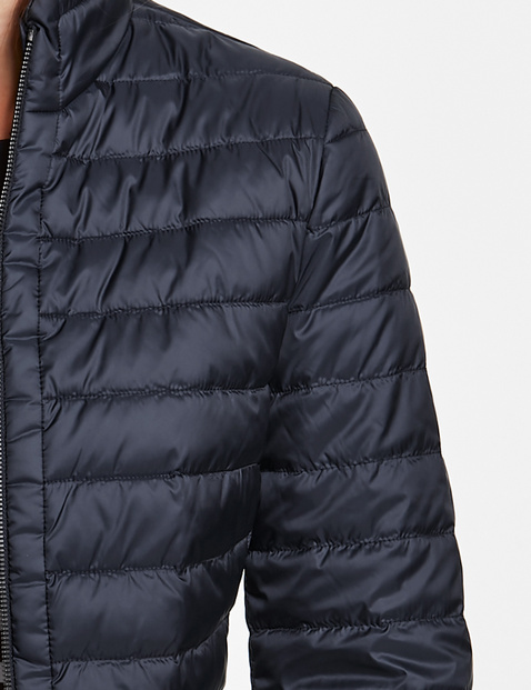 Cienka pikowana kurtka