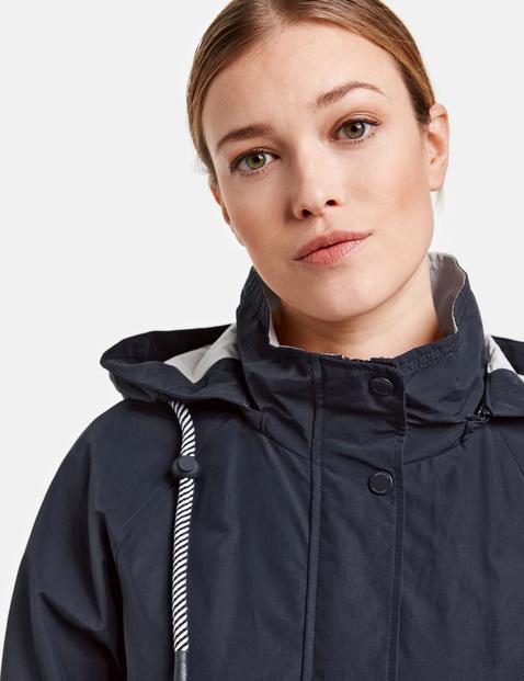 Jacket with a hood
