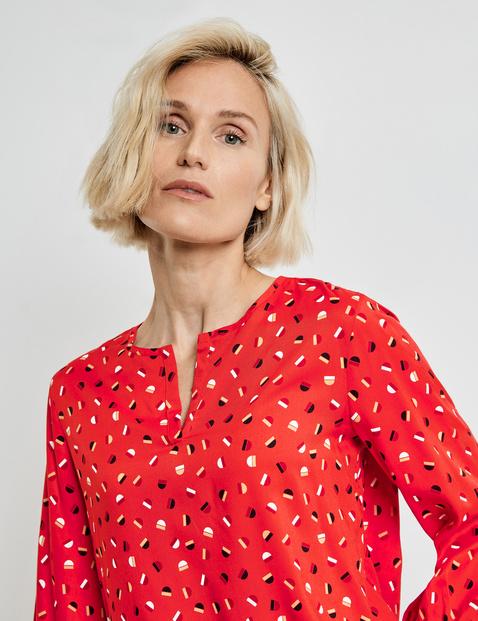3/4-sleeve blouse, EcoVero