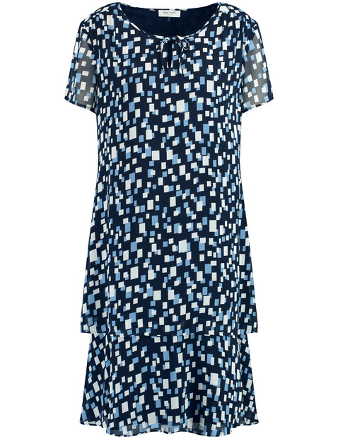 Kleid mit schwingender Weite